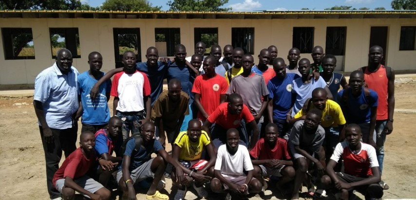 La Salle School-Rumbek, in South Sudan, is almost ready!