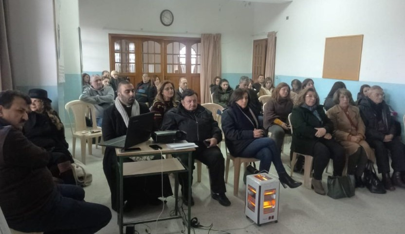 Rencontre des Signum Fidei au Collège Saint Pierre Baskinta