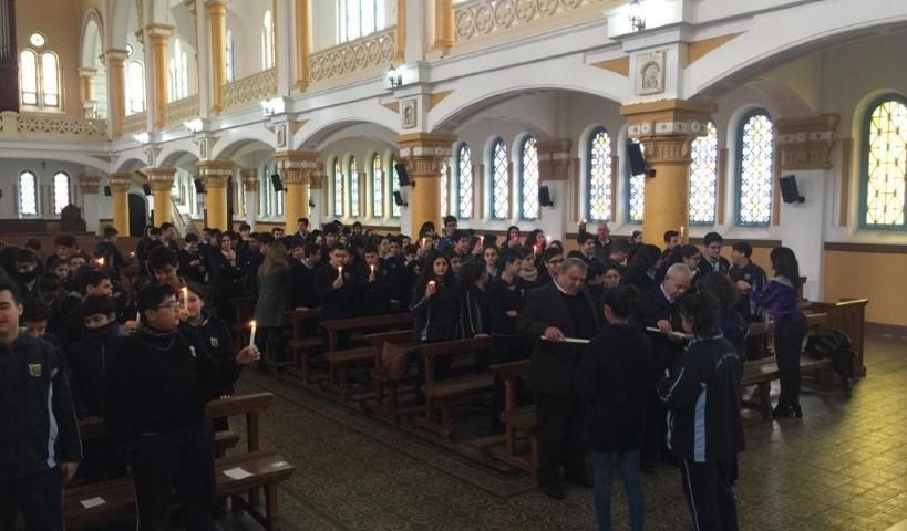 Présentation de Jésus au Temple au Collège du Sacré-Coeur