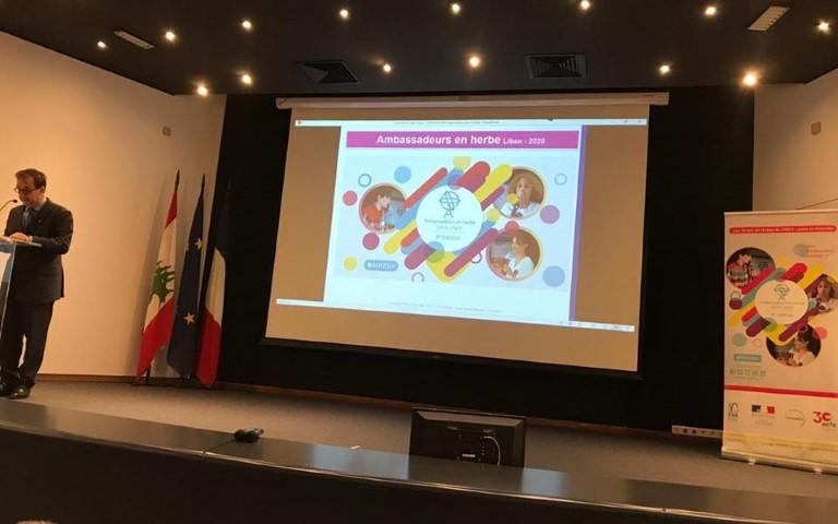 Mont La Salle participe à l'activité« Ambassadeurs en herbe »  à L'ESA