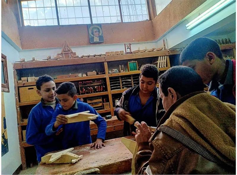 L'école parallèle à Bayadeya-Haute Egypte