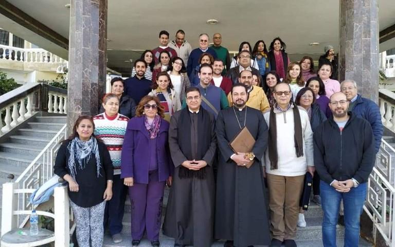 Rencontre des enseignants d'éducation religieuse en Egypte