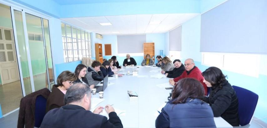 Rencontre des responsables pastoraux des établissements lasalliens au Liban avec Frère Fadi Sfeir, Visiteur.