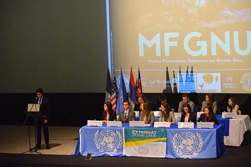 St. Marc College's participation in the (United Nations modeling)