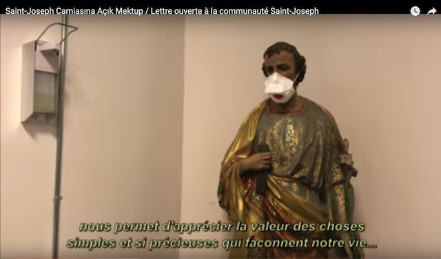 Vidéo réalisée pendant le confinement au Lycée Saint-Joseph d'Istanbul