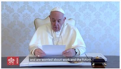 Message du Pape François pour la Semaine Sainte