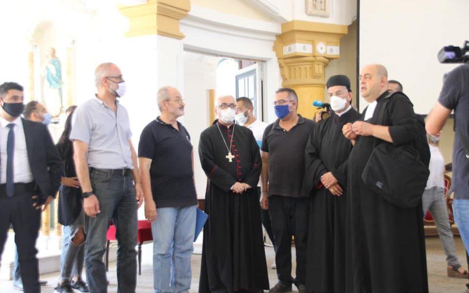 Sa Béatitude le Cardinal Mgr Béchara Raï en visite au Collège du Sacré-Coeur Gemmayzé