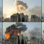 Beyrouth , ville sinistrée.