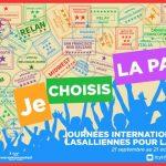Journées Internationales Lasalliennes pour la Paix : «Je choisis la Paix»