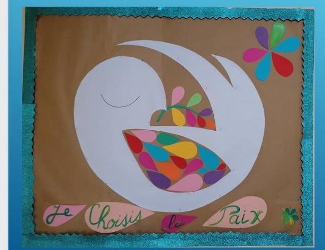 Fête de la paix à l'école Saint Vincent de Paul