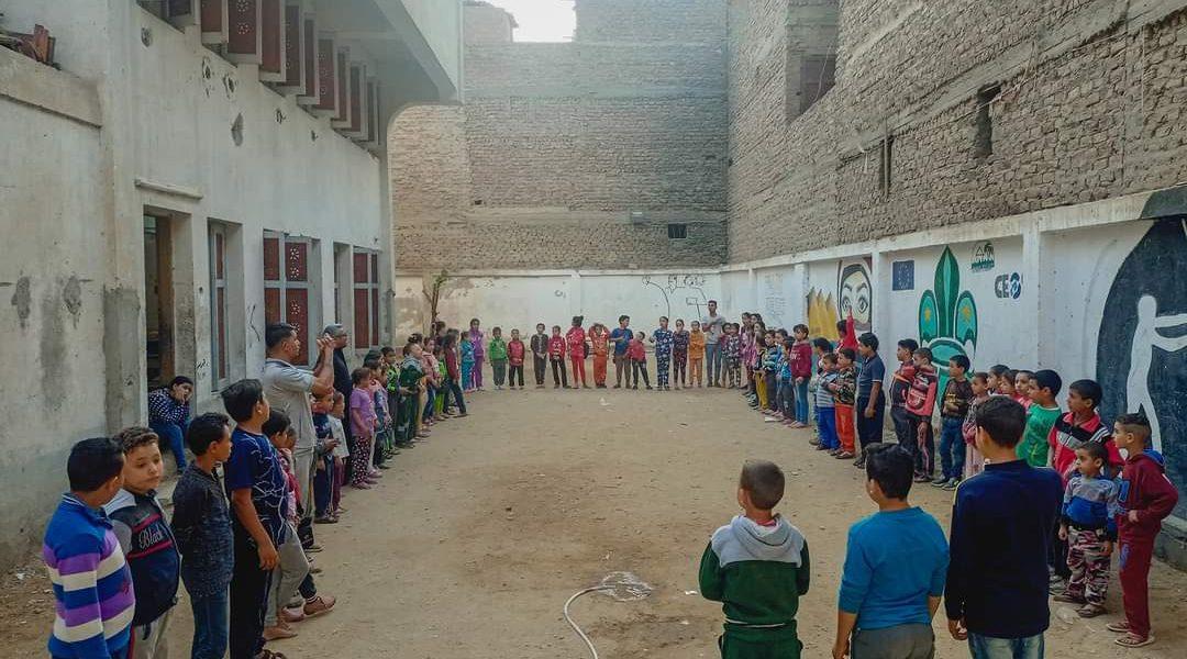 Mission des Enfants à Bayadeya-Haute Egypte.