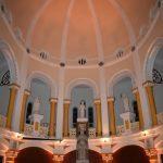 Deux musiciens pour une nouvelle étoile 2021 en la Chapelle du Sacré-Coeur restaurée.
