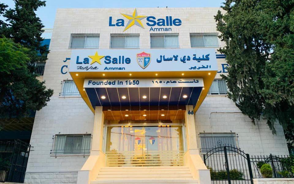 Congratulations De La Salle College Amman:  an authorized IB World School for the MYP.
