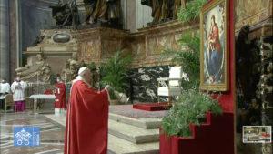 Rameaux : « L'étonnement devant Dieu, qui sait remplir d'amour même la mort »