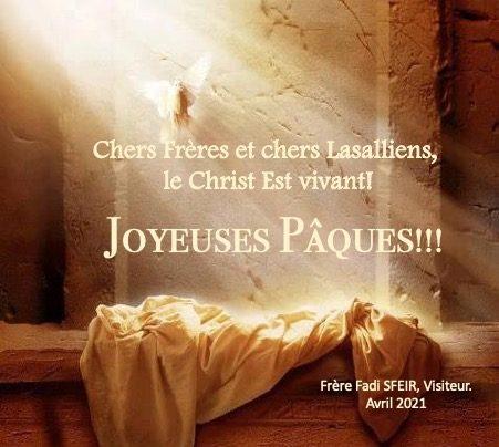 Voeux de Pâques