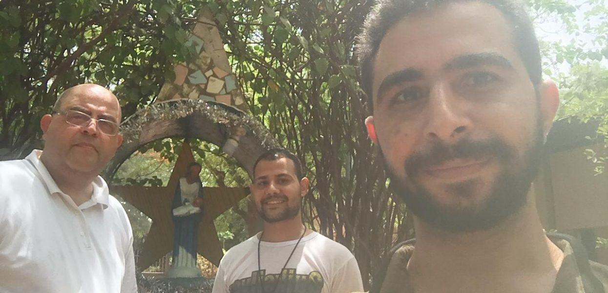 Frère Fadi Sfeir, Visiteur au Noviciat de Bobo Dioulasso.
