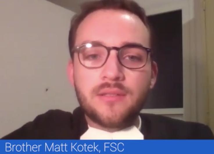 Brother Matt Kotek, FSC, De La Salle Christian Brother 'Live from Lebanon'
