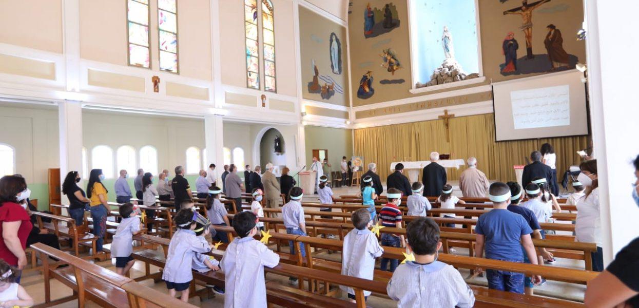 Messe de St Jean Baptiste de La Salle mai 2021 au CND