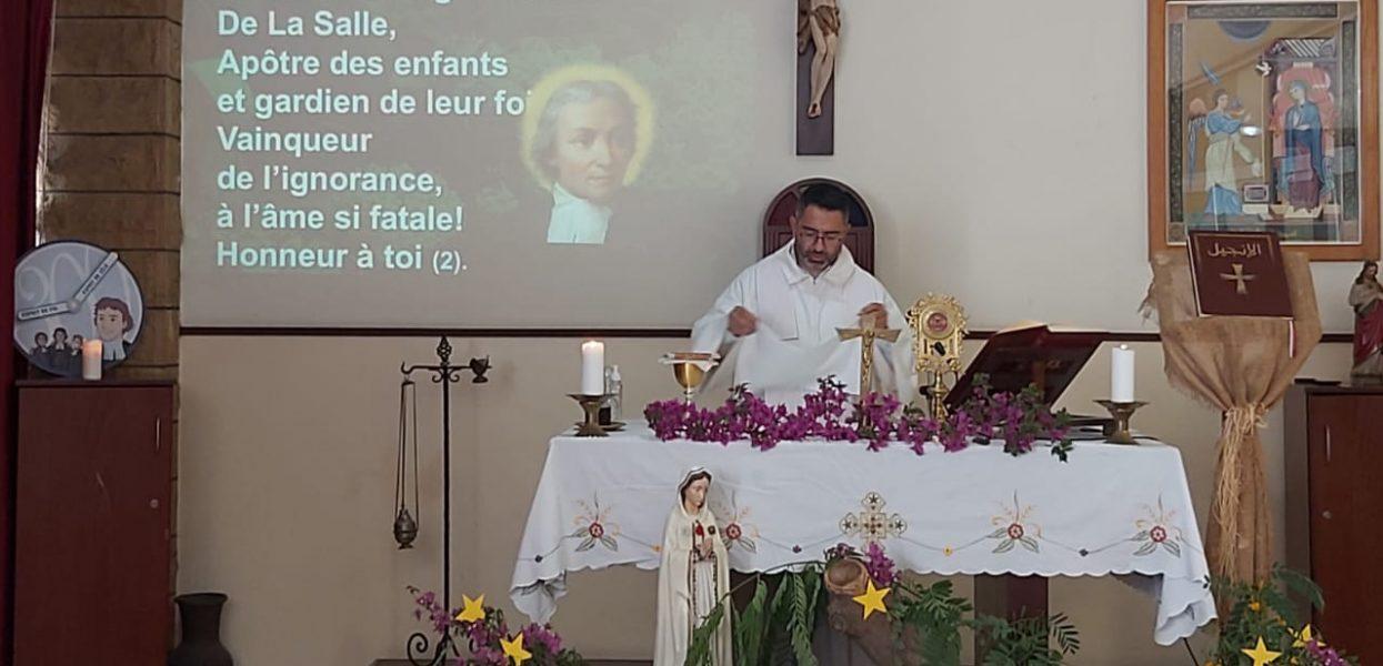 Messe de Saint Jean Baptiste De La Salle à Saint Vincent de Paul