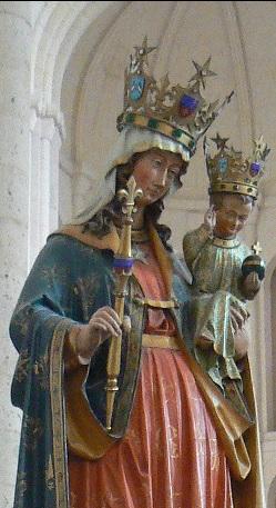 Histoire et légende à l'origine de la dévotion à Notre Dame de l'étoile.