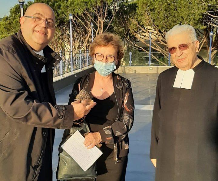 Mot du Frère Visiteur à la réception en l'honneur de Mme Rachida Dumas.