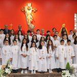 La première communion à De La Salle Amman