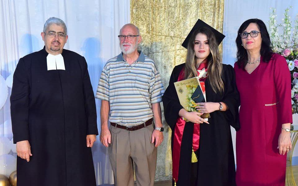 Promotion 2021 des  finissants des deux filières, baccalauréat et bagrout à Saint Joseph-Jaffa