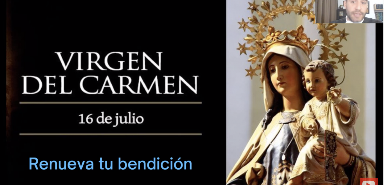 Does the SCAPULAR take you DIRECTLY TO HEAVEN? ➕ Virgin of Carmen and Prayer: Love Relationship