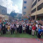 Inauguration du bâtiment des Maternelles à Saint Joseph-Khoronfish.