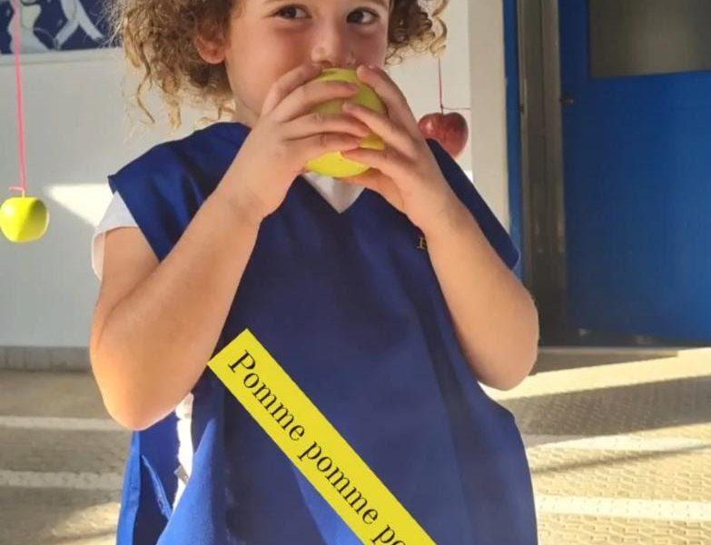 Journée de la pomme libanaise au Collège De La Salle, Kfaryachite